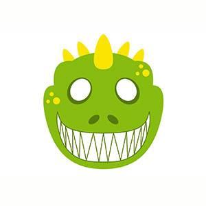 Maschera di Dinosauro da stampare