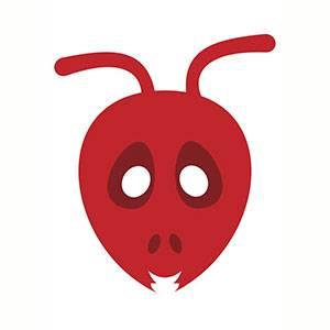 Maschera di Formica da stampare