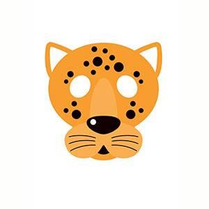 Maschera di Giaguaro da stampare