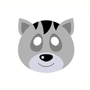 Maschera di Procione da stampare
