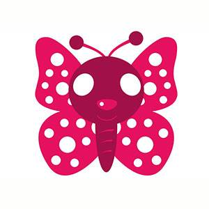 Maschera di Farfalla da stampare